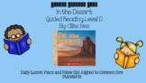 In the Desert (Level D) Guided Reading Lesson Plan
