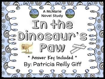 In the Dinosaur's Paw (Patricia Reilly Giff) Novel Study / Comprehension (21 pg)