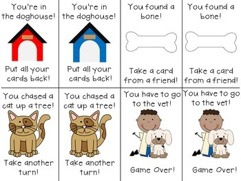 In the Doghouse: A Sight Word Game