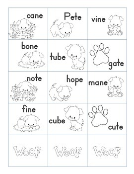 In the Doghouse: A short vs long vowel game  Printer Friendly version
