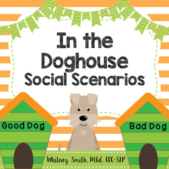In the Doghouse Social Scenarios for Autism and Speech Therapy