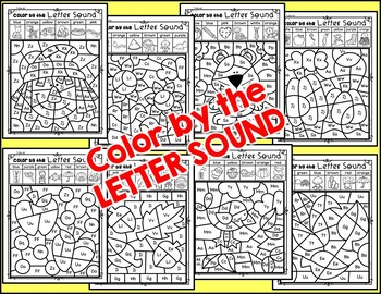 In the FALL Color by the LETTER SOUND {Includes Digital Resource}