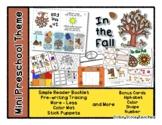 In the Fall - Autumn Theme - Mini Preschool Theme - Routine *o