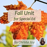 Fall Unit for Special Education