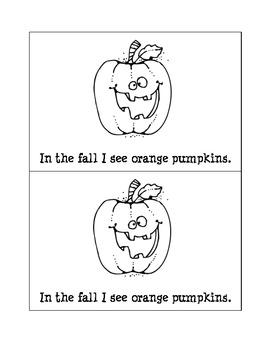 In the Fall mini book