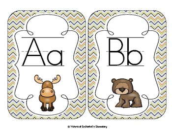 In the Forest Alphabet Cards