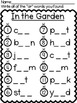 In the Garden-AR words Write the Room