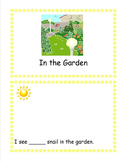 In the Garden Emergent Reader Sticker Story