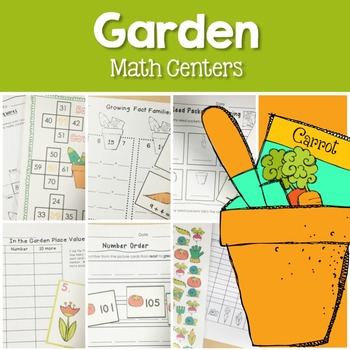 Garden Math Centers (Spring)