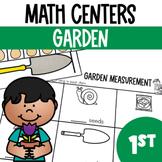 In the Garden- Math Center Fun (Spring)
