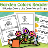 In the Garden Predictable Emergent Reader Featuring 11 Color Names
