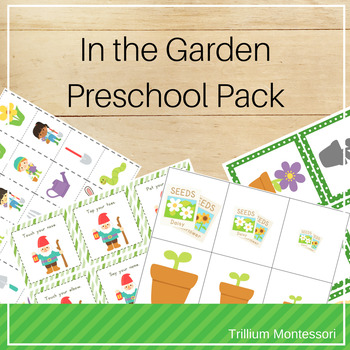 In the Garden Preschool Pack for Spring