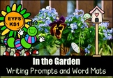 In the Garden Writing Prompts and Word Mats