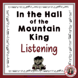 MUSIC ACTIVITIES: 'In the Hall of the Mountain King' Liste