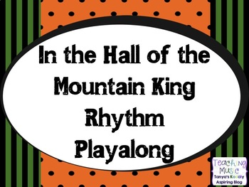 In the Hall of the Mountain King Playalong