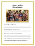In the Heights Movie Review and Lesson Plan