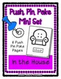 In the House - Push Pin Poke No Prep Printables - 6 Pictur
