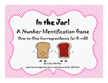 In the Jar! - A Number Identification and One-to-One Correspondence Game
