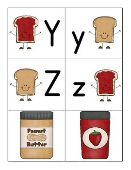 In the Jar! - An Upper and Lower Case Letter Identification Game