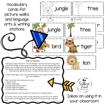 Jungle Shared Reading Read & Sing Early Reader