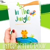 Rainforest or Jungle Interactive Book for Speech Therapy