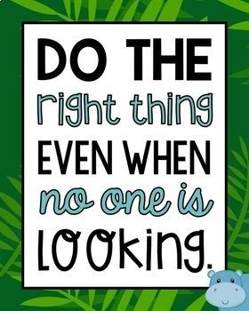 Jungle Motivational Posters