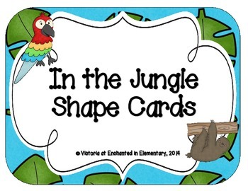 In the Jungle Shape Cards
