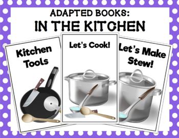 In the Kitchen Adapted Book Bundle