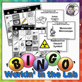 Science Bingo: In the Lab (Science Equipment & Safety)