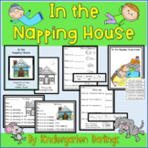 In the Napping House Emergent Reader Plus Literacy & Math Activities