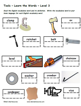 In the Neighborhood - Bundle of 5 Differentiated Vocabulary Packets for Language