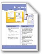 In the News (File folder Center)
