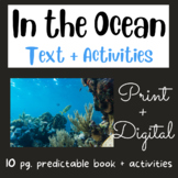 In the Ocean: Mini Book #2 (Fry Sight Words)