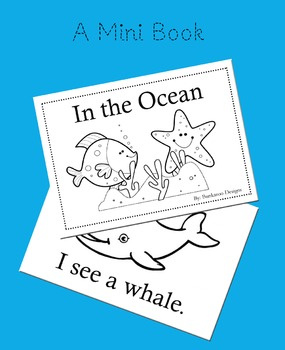 In the Ocean Mini Book - High Frequency Words