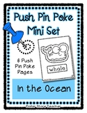 In the Ocean - Push Pin Poke No Prep Printables - 6 Pictur