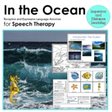 In the Ocean: Receptive and Expressive Language Activities for Speech Therapy