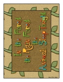 In the Rain Forest Class Book and pocket chart fun
