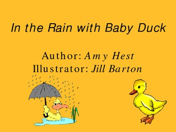 In the Rain with Baby Duck PowerPoint