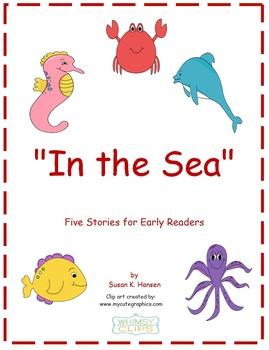 Ocean Animals: Kindergarten Stories and Comprehension