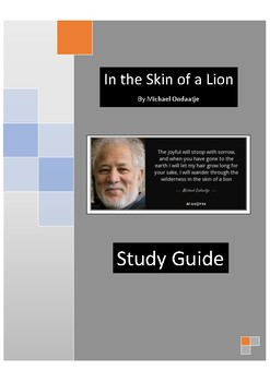 In the Skin of a Lion - Study Guide