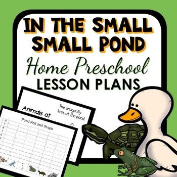 In the Small Small Pond Theme Home Preschool Lesson Plans