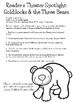 In the Spotlight: Goldilocks & the Three Bears