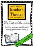 Reader's Theater Spotlight: The Lion & the Mouse (Common Core Aligned)