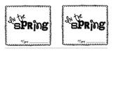 In the Spring Flip Book