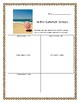 In the Summer: A Summer Themed Writing Activity