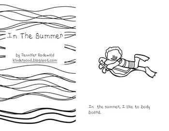 In the Summer: Student Reading Book