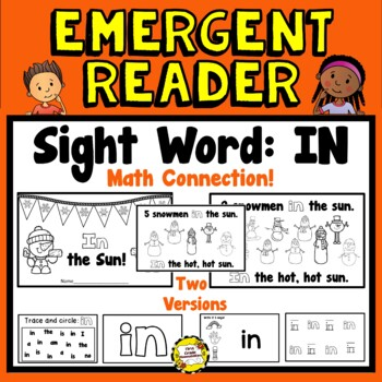 In the Sun Emergent Reader (Math: Counting Back from 10 or 5)  Sight Word: IN