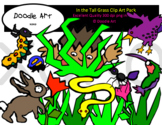 In the Tall Grass Clipart Pack