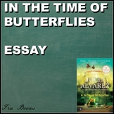 In the Time of Butterflies Argumentative Essay with Multiple Resources!!!