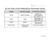 In the Time of the Butterflies Character Guide